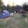 Mon campement à BARCELONNETTE