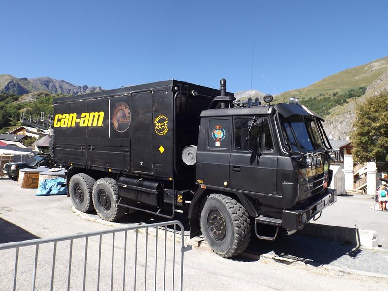 Camion DAKAR à VALLOIRE