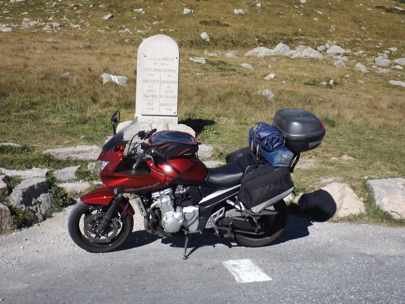BANDIT au Col de la CAYOLLE