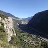 Vallée de la MAURIENNE depuis les lacets vers MONTVERNIER