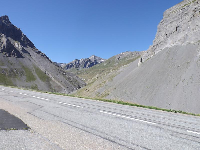 Montée vers le Col du GALIBIER