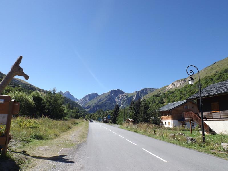 Montée ver le Col du GALIBIER par la D 902