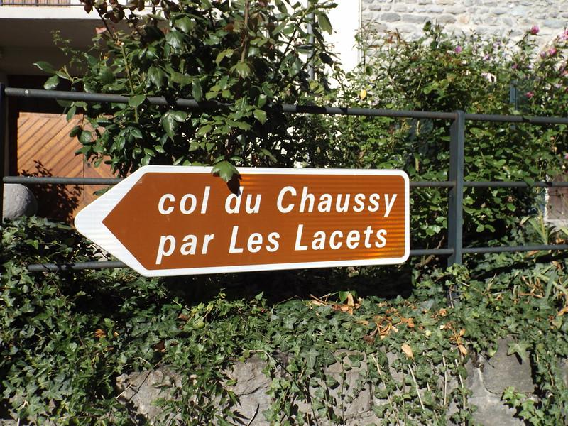 Route du Col du CHAUSSY