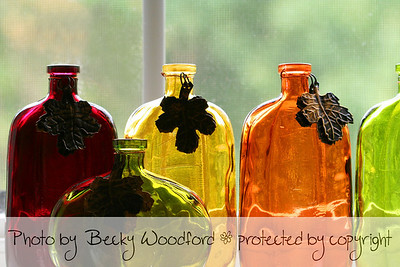 Autumn bottles