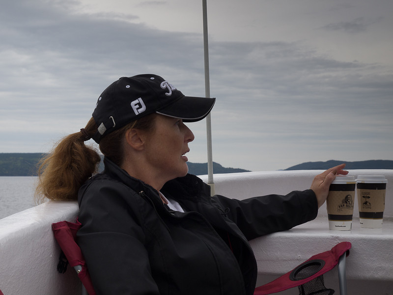 The first lady of the boat, or is that first mate?