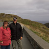 Janice and Dad atop Signal Hill