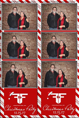 FandFconstruction Christmas Party 2017