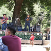 There was live music during lunch.