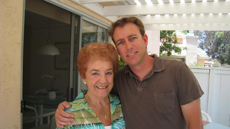 Grandma D and Chris