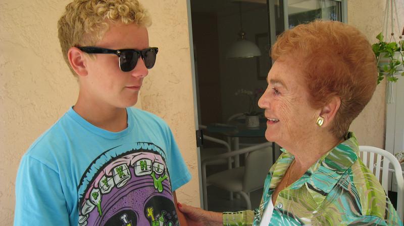Shon and Grandma D