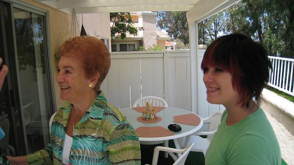 Grandma D and Chelsea