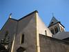 L'église Saint-Maximin met ramen van Jean Cocteau
