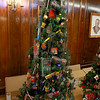 The Festival of Trees in Leominster will open on November 29th at 11 a.m. at City Hall. This tree was created By Leminster resident Rose Tasca. SENTINEL & ENTERPRISE/JOHN LOVE