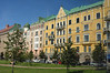 A neighborhood in Helsinki, Finland.