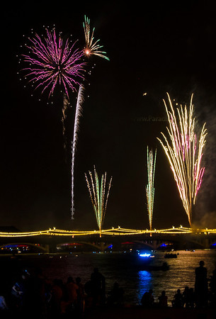 Purple yel fireworks tempe 8301