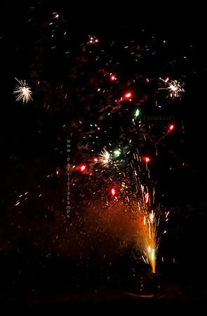 Ground fireworks 8380