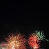 Fireworks on July 5, 2008, in Laurel, MD.
