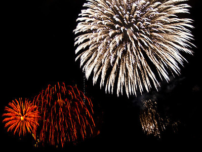Fireworks Red white & no blue 0712 9421