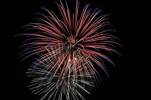 Fireworks on 7/5/08