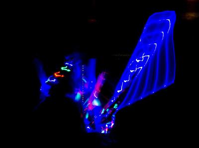 Lights at Tempe Fireworks 8291