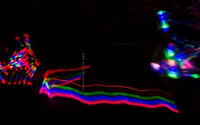 Lights at Tempe Fireworks 8287