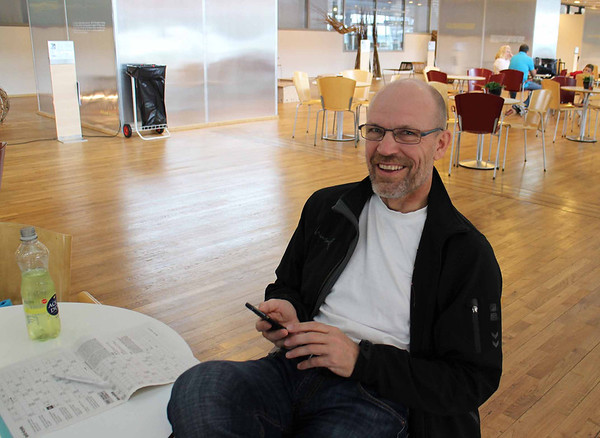 Fredag: Klar til afgang fra Billund Lufthavn...