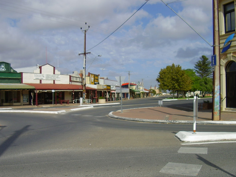 Main Street of Balaklava
