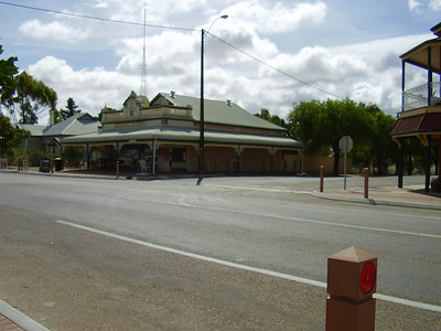 The town centre