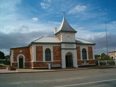 What they call a town hall in the Outback