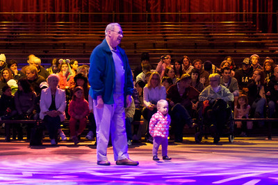 Megan and Grampy take centre stage