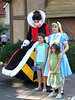 "Unknown people with the Queen of Hearts and Alice - ""Off with their heads!"""