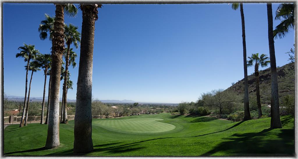 The Phoenician Golf Club at the Cholla Trailhead