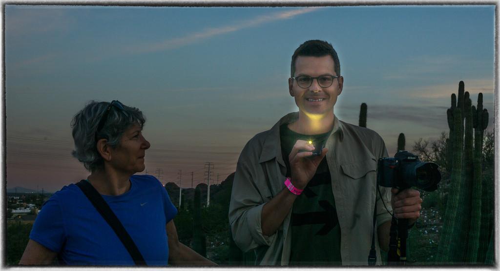 iPhone Light Sculpture