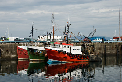 Boats in Mallaig Harbour