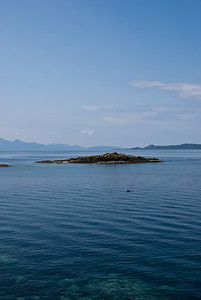 Looking towards Rum from Mallaig