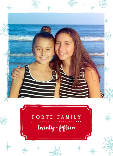 Forte Family Holiday Card