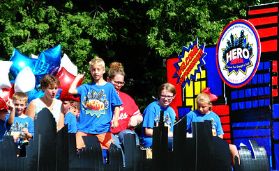 Debbie Blank | The Herald-Tribune The Milan United Methodist Church float got the word out about its July 8-12 evening camp.