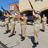 "Debbie Blank | The Herald-Tribune<br /> Batesville VFW Post 3183 Commander Mike Fritsch said, ""As we commemorate our nation's independence ... we remember the men and women who gave the ultimate sacrifice so we can have this great freedom."" Then Prell-Bland American Legion Post 271 members fired their rifles in a Salute to the Dead."