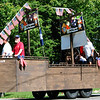 Debbie Blank | The Herald-Tribune<br /> Milan Knights of Columbus Assembly 246 offered a patriotic display.