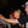 Lisa and Cory partying at the lakehouse bar  ( 2009 )