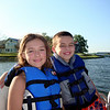 Morgan and Brock on the lake over the fourth  ( 2009 )