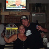 Lisa and Cory at the lakehouse bar  ( 2009 )