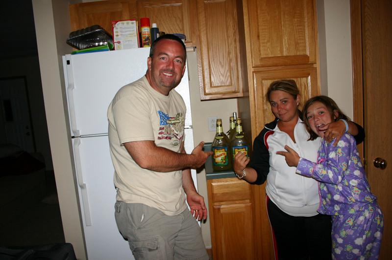 Dan, Lisa and Morgan