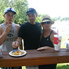 Bryce, Phil and Mary at the lake house for the 4th ( 2013 )