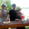 Bryce, Phil and Mary at the lake house ( 2013 )