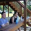 Chad and Lisa at the lake house ( 2013 )
