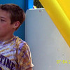 Alex at the water balloon fight