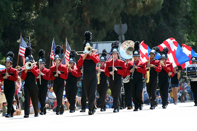 The Independence Day Parade, Sunland-Tujunga, CA, 2007.