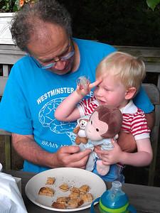 Breakfast for Granpop, Milo, & George