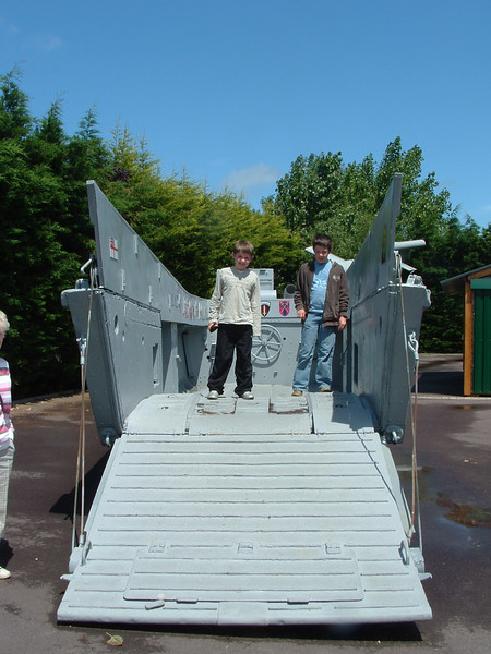 Landing craft- Pegasus Bridge museum.